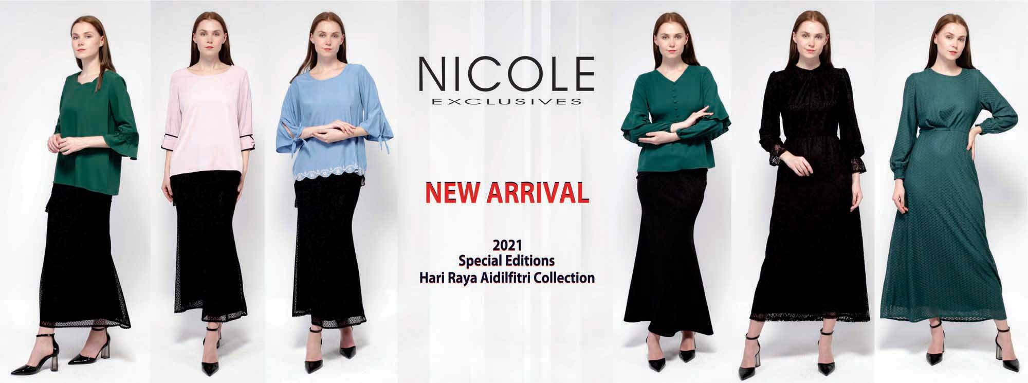 NICOLE EXCLUSIVES NEW COLLECTION