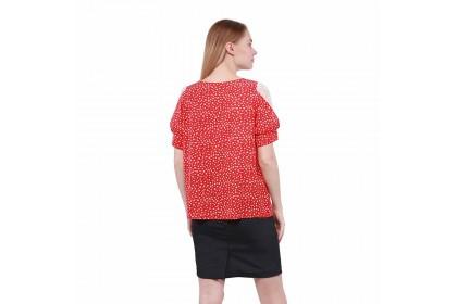 Nicole Exclusives- Floral Print Blouse
