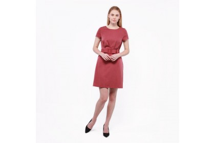 Nicole Exclusives- Short Sleeve Dress