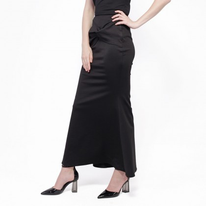 Nicole Exclusives Basic Mermaid Skirt - Black