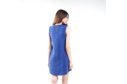 Nicole Exclusives A Line Sleeveless Knitted Dress