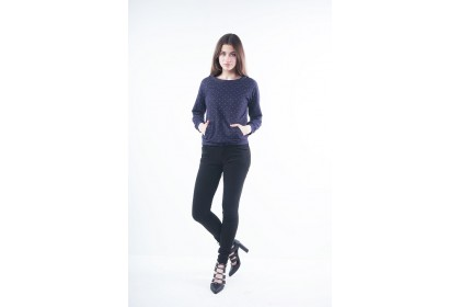 Nicole Casual Wear Skinny Pants - Black