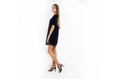 Nicole Exclusives  Puffed Sleeve Bottom Dress