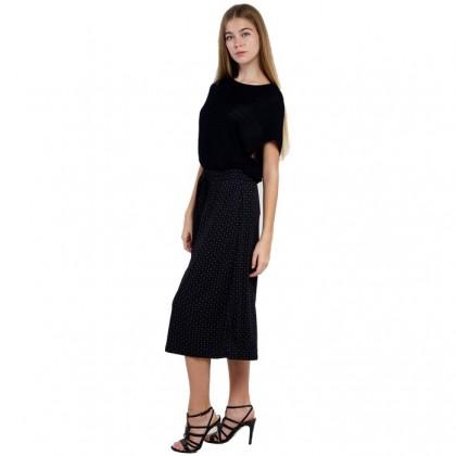 Comfy Elastic Waist Wide Legged Pant