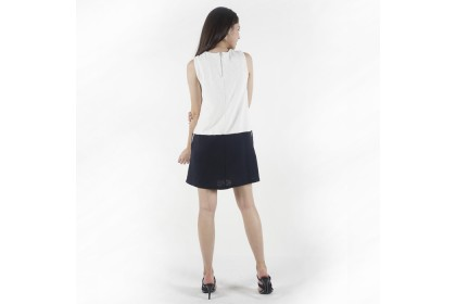 Nicole Exclusives A Line Dress With Side Pockets