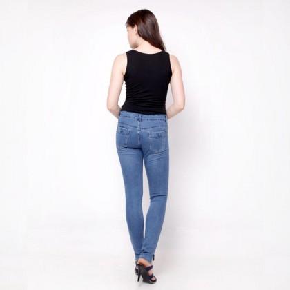 Nicole Denim Blue Skinny Jeans