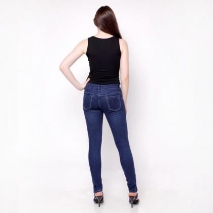 Nicole Denim Dark Blue Skinny Jeans