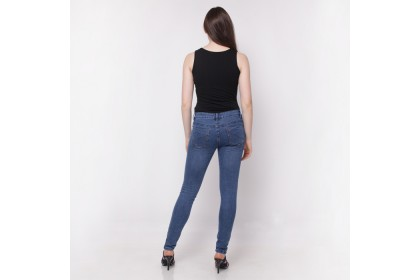 Nicole Denim Slim Jeans Dark Blue