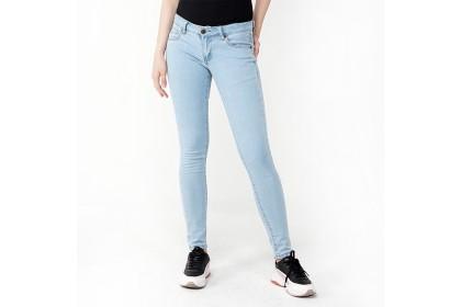 Skinny Fit Denim Wears - Light Blue
