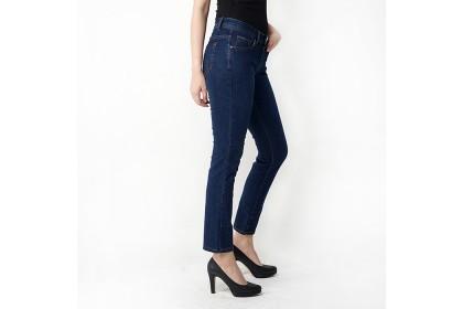 Dark Blue Regular Fit Denim Jeans
