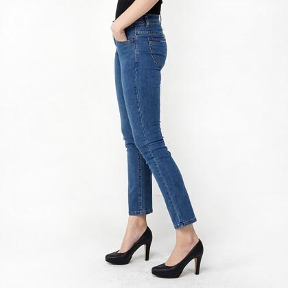 Blue Regular Fit Denim Jeans