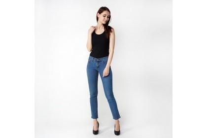 Straight Fit Light Blue Denim Jeans
