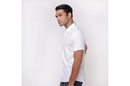 NIC by NICOLE Polka Dots Shirt - White