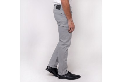 Grey Casual Comfort Cotton Pants
