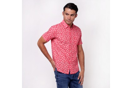 monsieur Cotton Short Sleeves Shirt