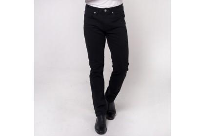 Nic by NICOLE Black Cotton Slim Pants