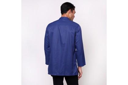 monsieur NICOLE Blue Baju Melayu