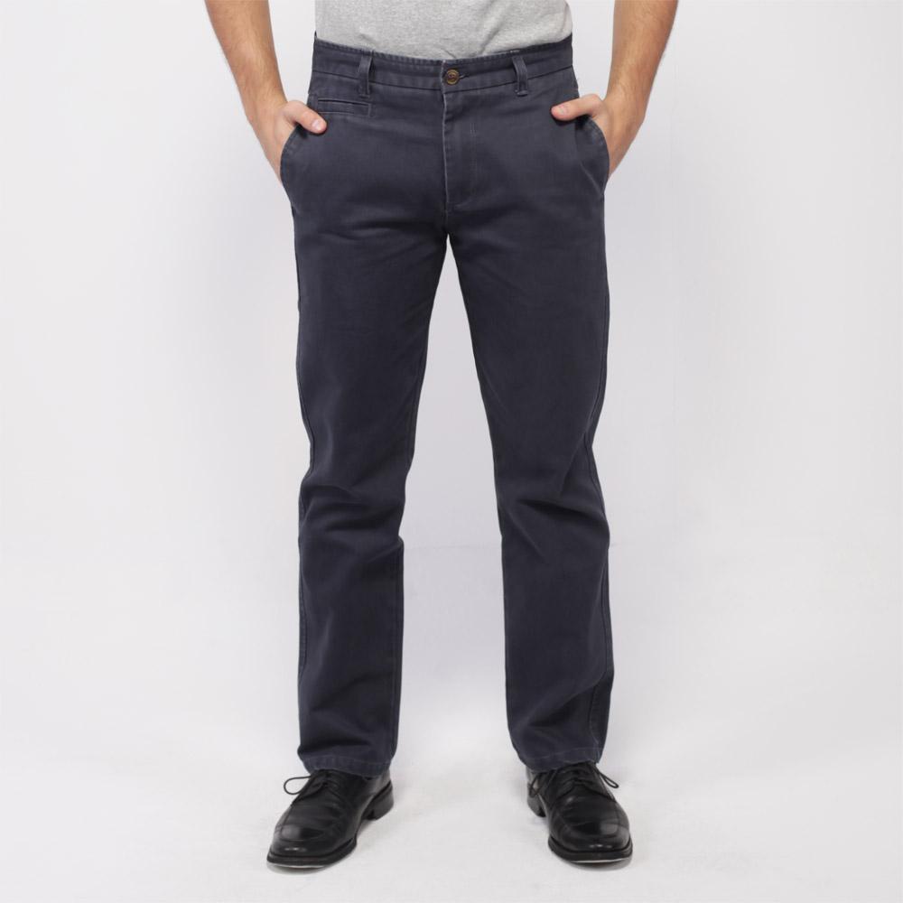 monsieur NICOLE Casual And Comfort Cotton Pants - Grey