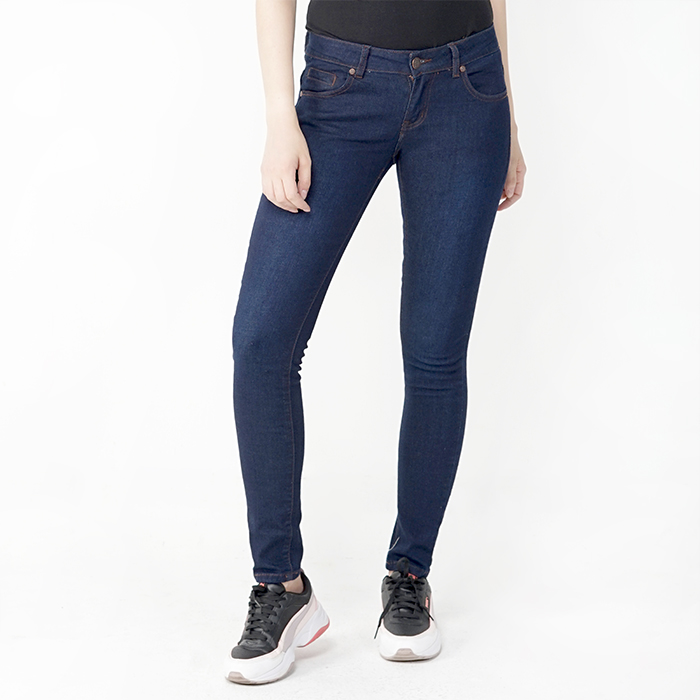 Skinny Fit Denim Wear - Dark Blue